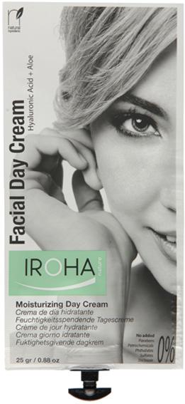 crema facial de día hidratante, iroha