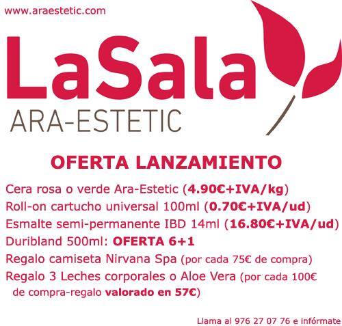 Ofertas lanzamiento LaSala Araestetic