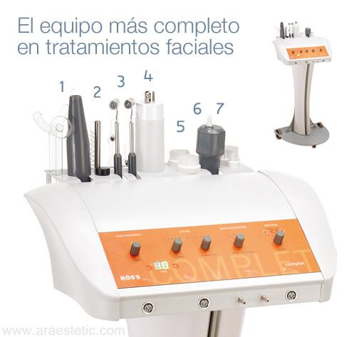 Tratamientos faciales Complet Rös's