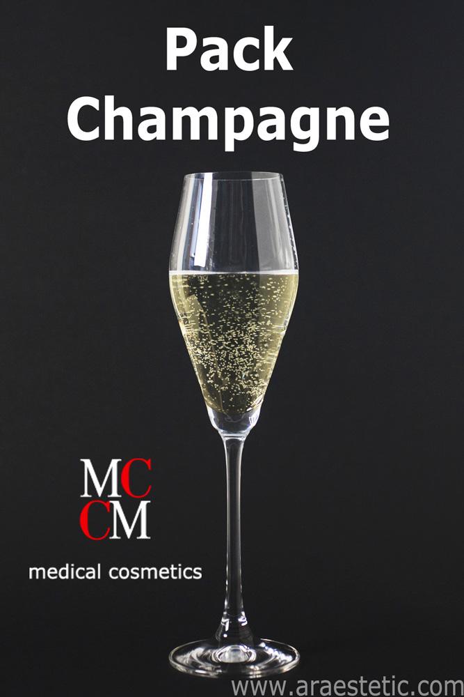 Pack Champagne Mesosystem en Ara-Estetic