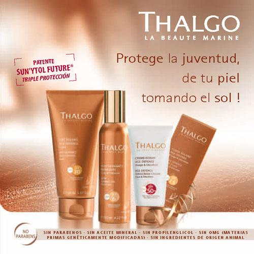 Productos solares Thalgo 2014