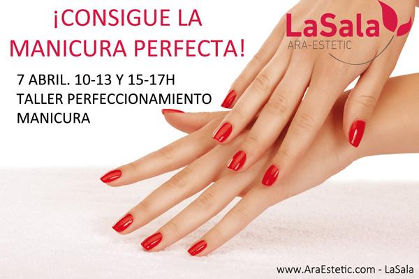 Curso perfeccionamiento manicura LaSala de Ara-Estetic