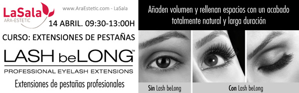 Curso Lash belong ABRIL 2015 LaSala de Ara-Estetic