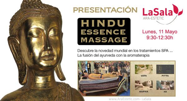 Presentación HINDU MASSAGE CV