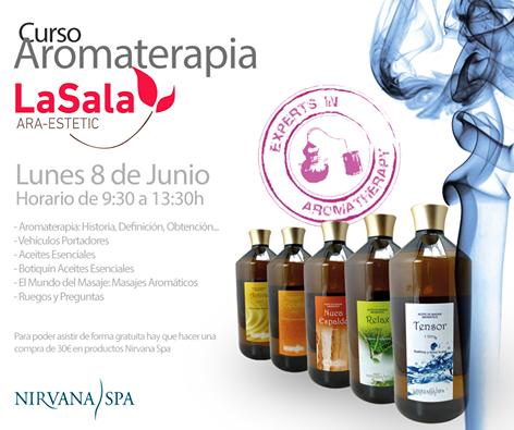 Curso de Aromaterapia Nirvana Spa
