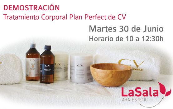 Demostración plan perfect CV junio 2015 LaSala AraEstetic
