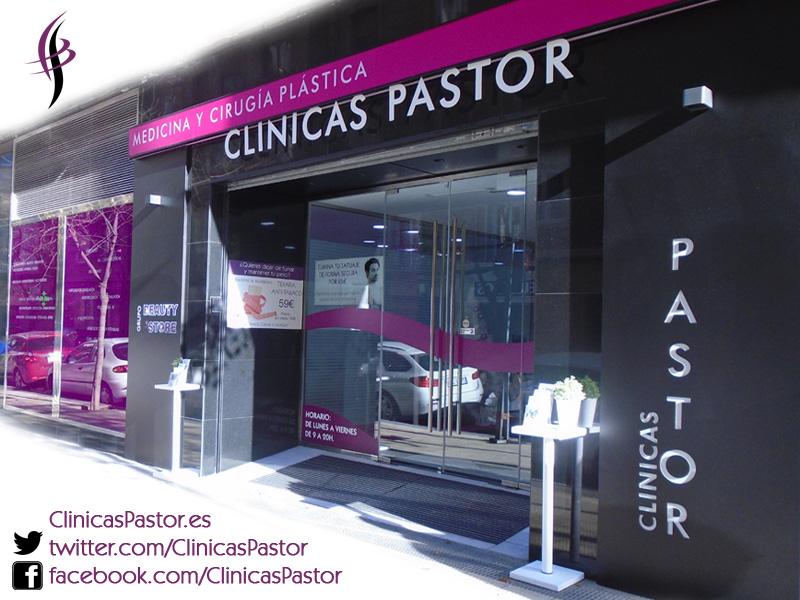 Fachada Clínicas Pastor