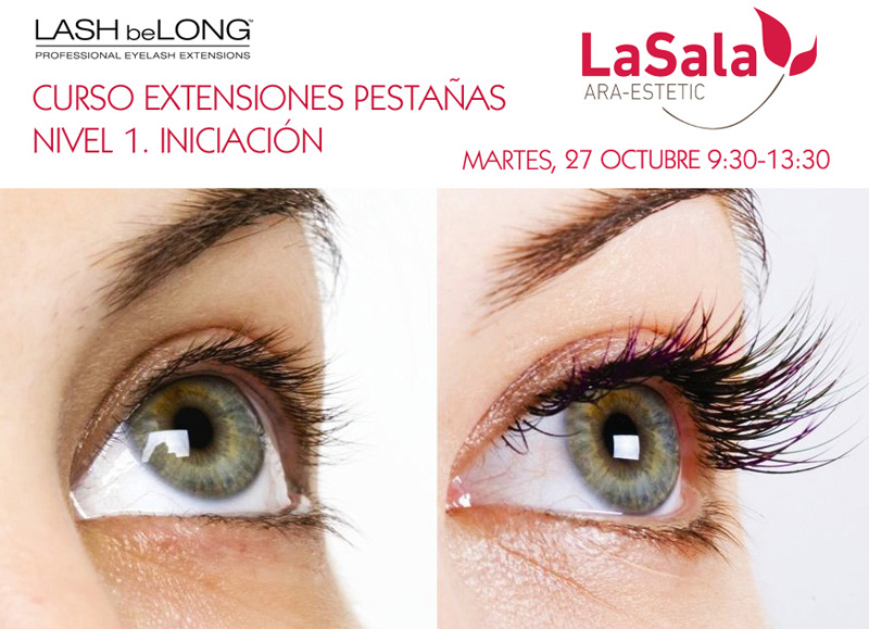 Curso Lash beLong nivel I octubre 2015, Ara-Estetic