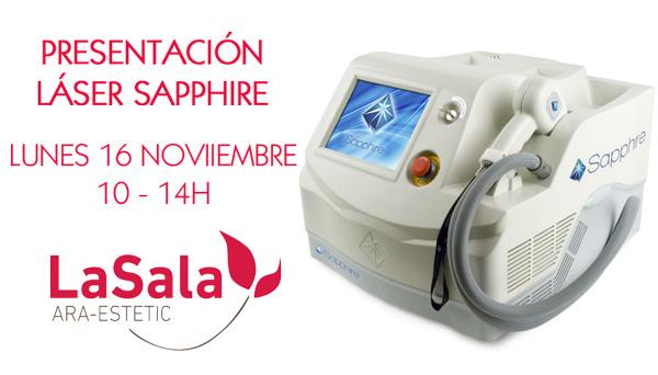 Presentación sapphire noviembre 2015, Ara-Estetic