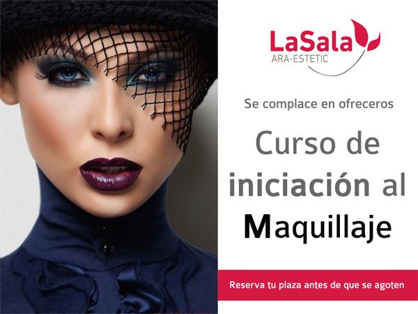 curso iniciación maquillaje en LaSala