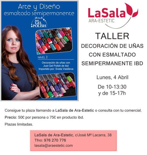 Taller uñas ibd marzo 2016, Ara-Estetic
