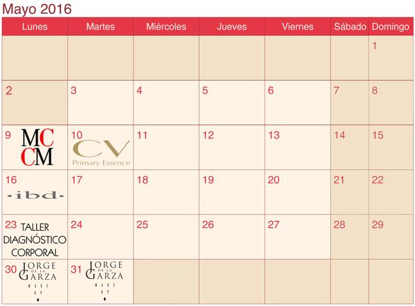 calendario LaSala mayo 2016