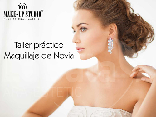 taller práctico maquillaje de novia, Ara-Estetic