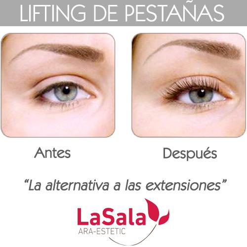 Presentación Lifting pestañas LaSala AraEstetic Zaragoza 2016