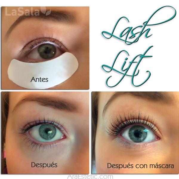 lash lift lasala araestetic Zaragoza