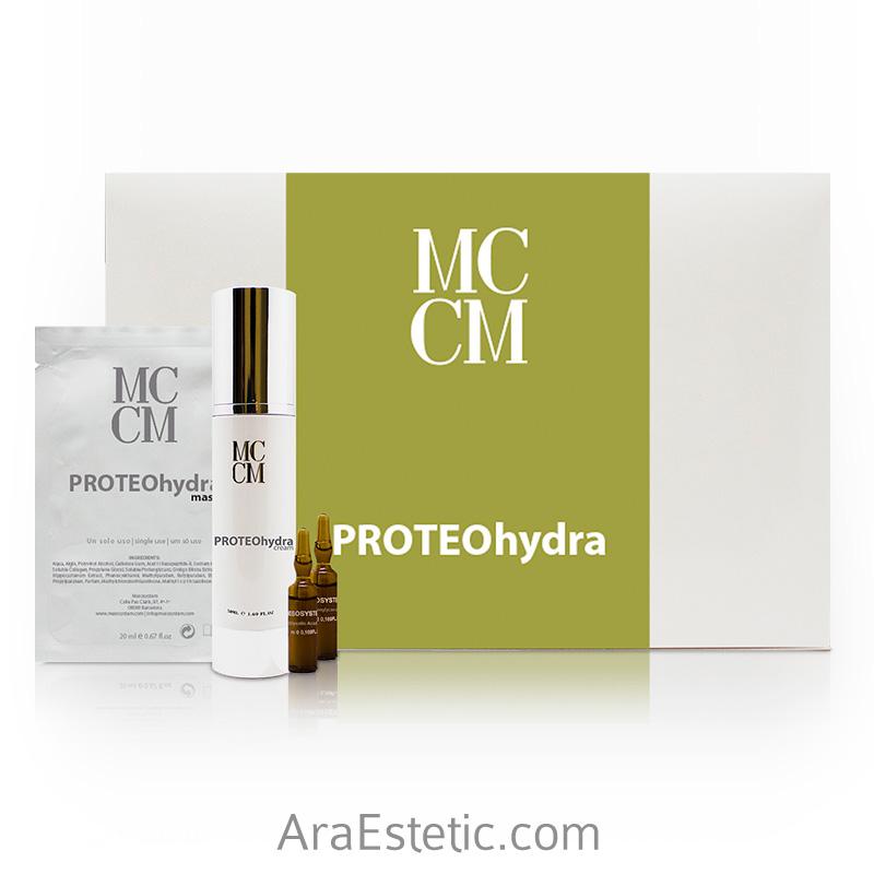 Pack proteohidra MCCM en Araestetic Zaragoza
