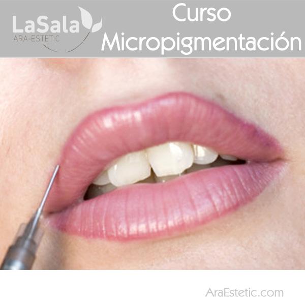 Curso micropigmentacion labios LaSala AraEstetic Zaragoza, Ara-Estetic