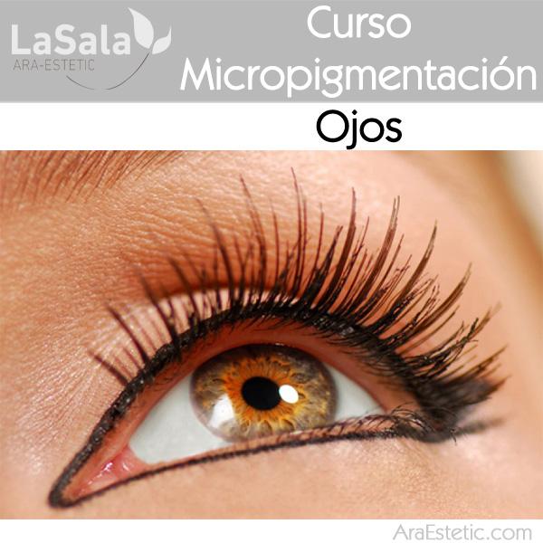 curso Micropigmentación ojos LaSala AraEstetic Zaragoza, Ara-Estetic