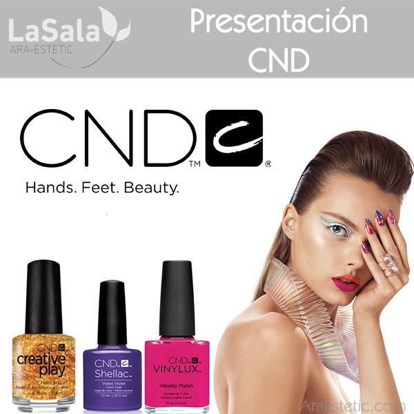 Presentación CND LaSala AraEstetic Zaragoza, Ara-Estetic