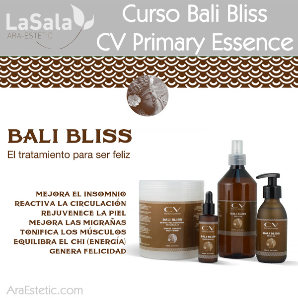 Curso Bali Bliss CV Primary Essence, Ara-Estetic