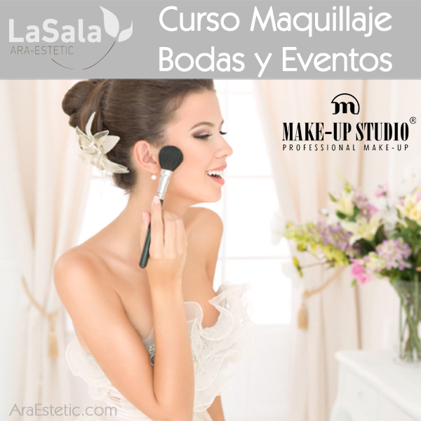 Curso maquillaje bodas y eventos Make-up Studio, Ara-Estetic