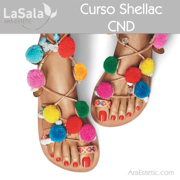 Curso Shellac en LaSala de Ara-Estetic