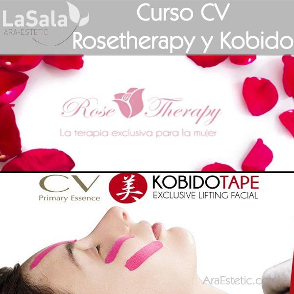 Curso CV Rosetherapy y Kobido Tape en LaSala de Ara-Estetic