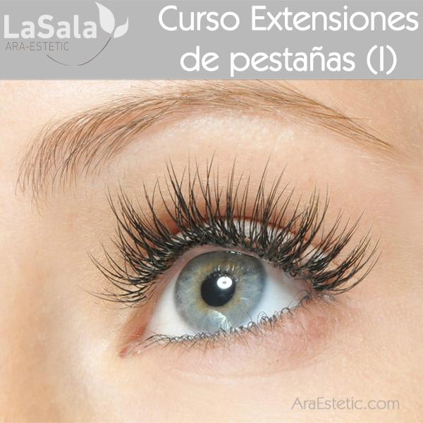 Curso Extensiones de Pestañas I en LaSala de Ara-Estetic, Zaragoza