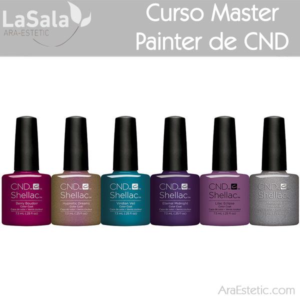 Curso Master Painter en LaSala de Ara-Estetic
