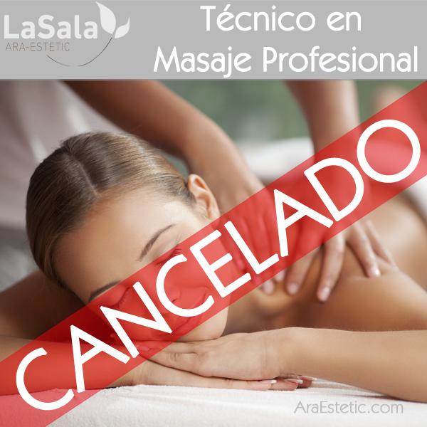 Técnico Especialista en Masaje Profesional, LaSala de Ara-Estetic