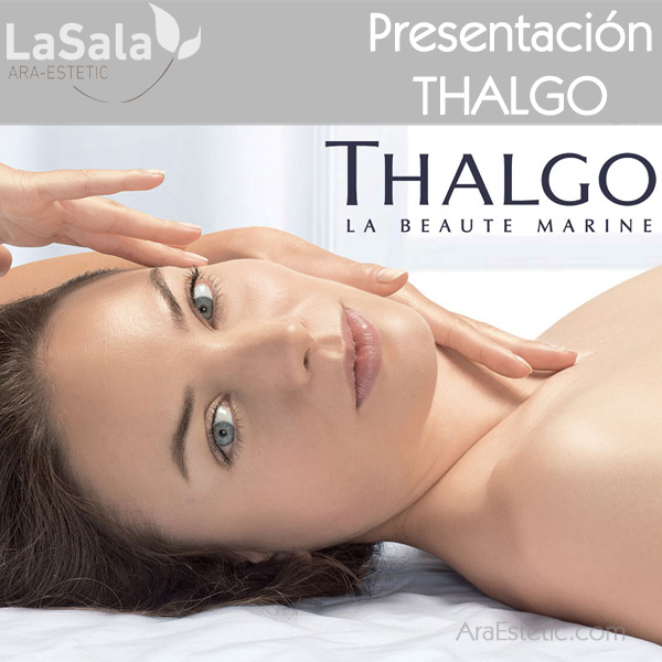 Presentación THALGO en LaSala de Ara-Estetic