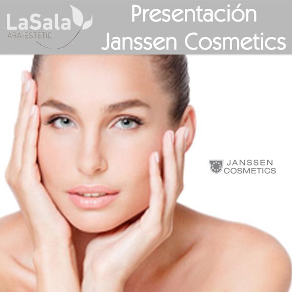 Presentacion Janssen Cosmetics, LaSala de Ara-Estetic