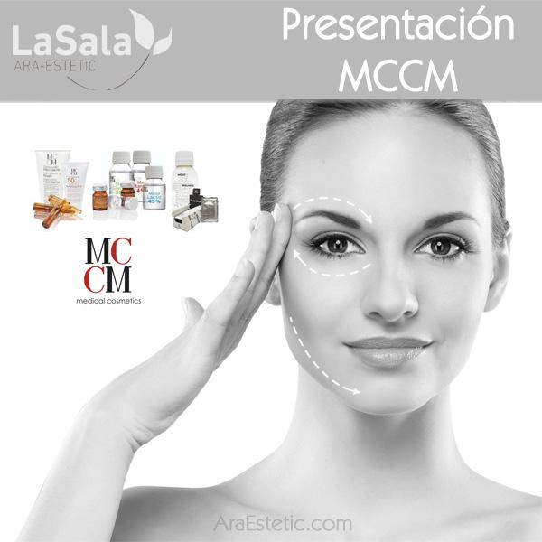 Presentación MCCM, LaSala de Ara-Estetic Zaragoza