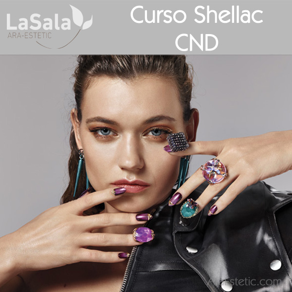 Taller Shellac de CND, en LaSala de Ara-Estetic