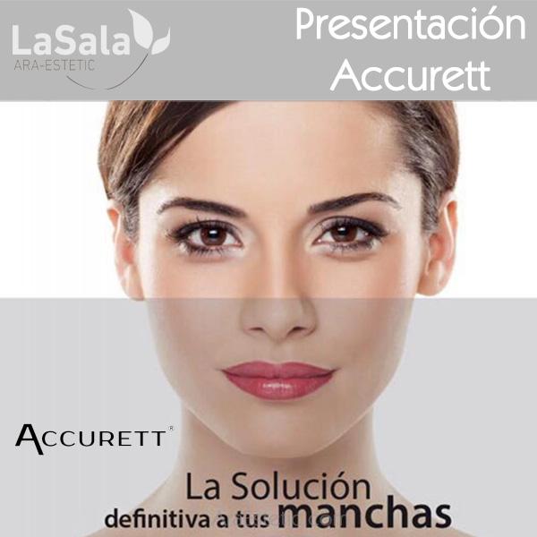 Presentación Accurett en LaSala de Ara-Estetic, Zaragoza