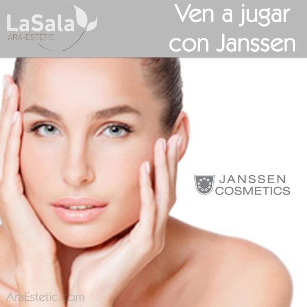 Presentación Ven a jugar con Janssen en LaSala de Ara-Estetic, Zaragoza