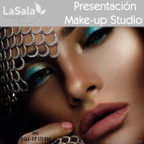 Presentacion Make-up Studio en LaSala de Ara-Estetic, Zaragoza