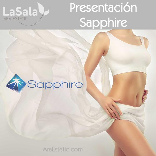 presentación sapphire Ara-Estetic, Zaragoza