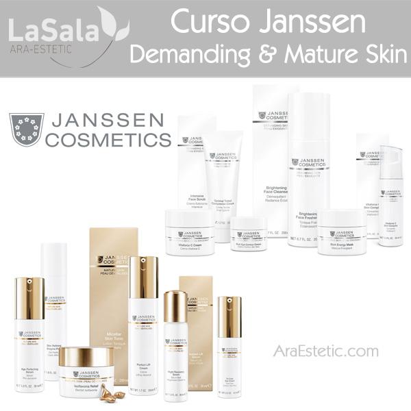 Janssen Cosmetics en LaSala de AraEstetic, Zaragoza