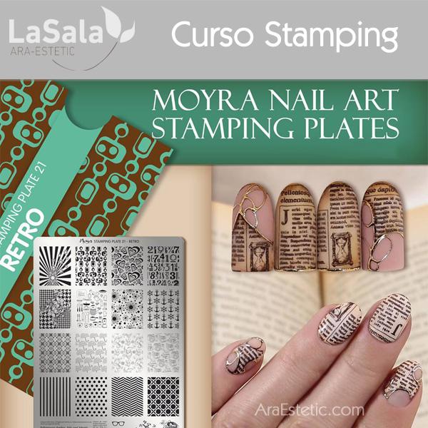 Curso stamping en LaSala de Ara-Estetic, Zaragoza